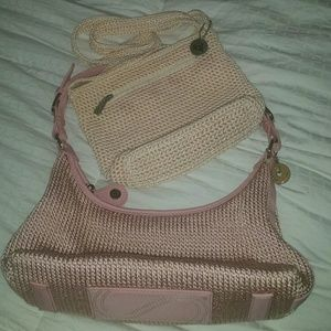 The SAK Lot 2 Woven Handbags Super Cute